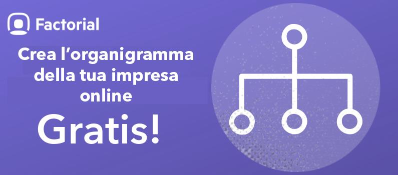 CREA L'ORGANIGRAMMA DELLA TUA IMPRESA ONLINE E GRATIS!