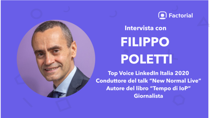 top voice linkedin italia filippo poletti
