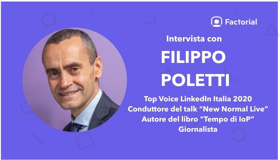 top voice linkedin italia filippo poletti