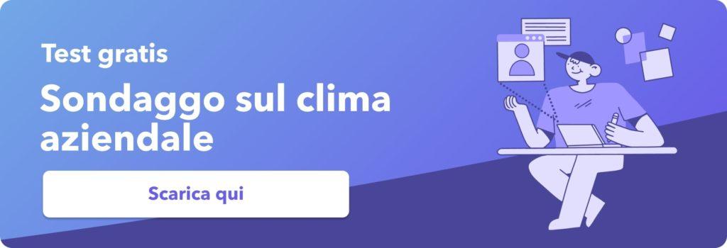 clima aziendale sondaggio gratis