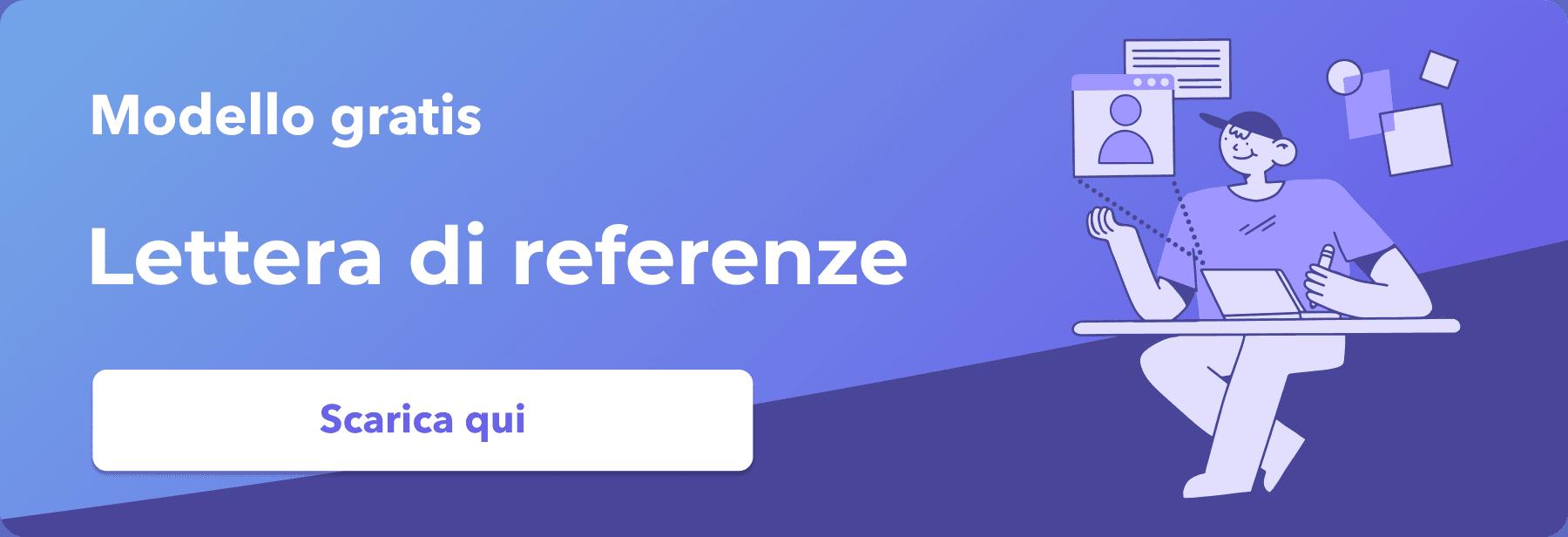 modello lettera di referenze gratis